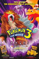 Pokemon 3: the Movie Wall Poster