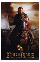 Lord of the Rings: Return of the King Riding on Horse Fine-Art Print