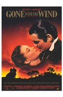Gone with the Wind Scarlett O'Hara & Rhett Butler Wall Poster