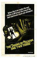 The Taking of Pelham One Two Three - Before this train reaches... Fine-Art Print