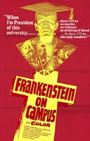 Doctor Frankenstein on Campus Wall Poster