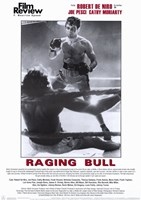 Raging Bull Film Review Wall Poster