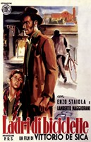 The Bicycle Thief - man standing Wall Poster