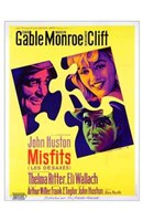 The Misfits John Huston Wall Poster
