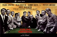 Oceans 11 Colpo Grosso Pool Table Wall Poster