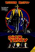 Dick Tracy Warren Beatty Wall Poster