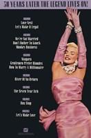 Marilyn Monroe - Movies on Fox Fine-Art Print