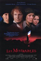 Les Miserables Liam Neeson Wall Poster