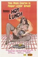 Hot Lunch Wall Poster