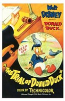 Trial of Donald Duck Fine-Art Print