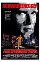 The Running Man Schwarzenegger Wall Poster