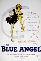 Blue Angel Wall Poster