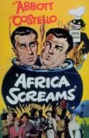 Abbott and Costello, Africa Screams, c.1949 - style A Fine-Art Print