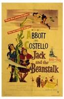 Abbott and Costello, Jack and the Beanstalk, c.1952 Fine-Art Print