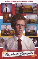 Napoleon Dynamite Cast Wall Poster