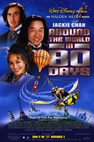 Around the World in 80 Days by Disney Wall Poster