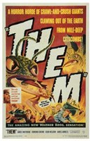 Them! (movie poster) Wall Poster