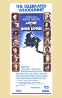 Murder on the Orient Express Wall Poster