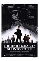 The Untouchables Italian Wall Poster