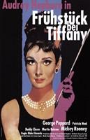 Breakfast At Tiffany's (german) Wall Poster
