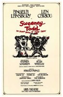 Sweeney Todd (Broadway Musical) Wall Poster