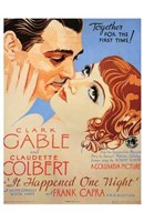 it Happened One Night Wall Poster