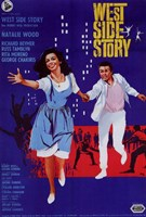 West Side Story Musical Natalie Wood Fine-Art Print