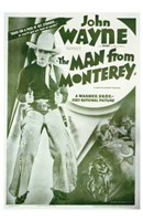 Man from Monterey John Wayne Wall Poster