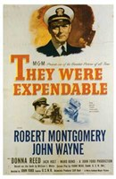 They Were Expendable The Film Wall Poster
