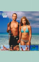 Into the Blue Jessica Alba and Paul Walker Wall Poster