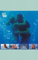 Into the Blue Kissing Underwater Wall Poster
