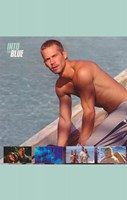 Into the Blue Paul Walker on Boat Wall Poster