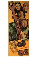 The Wizard of Oz Vertical Wall Poster