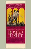 Romeo and Juliet Royal Ballet Wall Poster