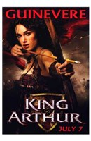 King Arthur - Guinevere Wall Poster