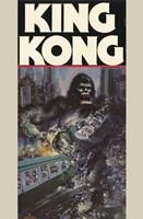 King Kong Crushing Train II Wall Poster