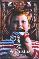 Charlie and the Chocolate Factory Augustus Wall Poster