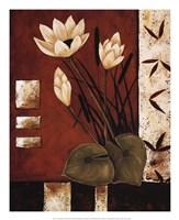Lotus Silhouette I Fine-Art Print