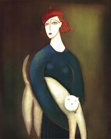 A Lady and Cocotte Fine-Art Print