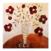 Trailing Pansy Bouquet Fine-Art Print