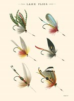 Lake Flies I Fine-Art Print