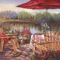 Summer Patio Fine-Art Print