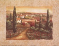 Tuscan Sunset I Fine-Art Print
