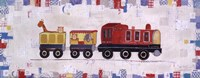 Red Circus Train Fine-Art Print