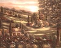 Evening in Tuscany I Fine-Art Print