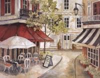 Daytime Cafe I Fine-Art Print