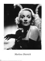 Marlene Dietrich - Black and white Fine-Art Print