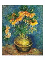 Crown Imperial Fritillaries in a Copper Vase, c.1886 Giclee