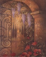 Wisteria Garden II Fine-Art Print