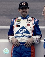 Kyle Petty portrait in Georgia Pacific uniform, 2004 Nextel Fine-Art Print